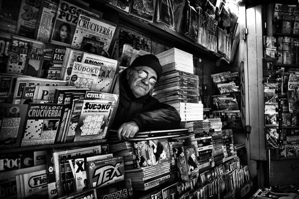 Shop Photograph - Sudoku Corner... by Antonio Grambone
