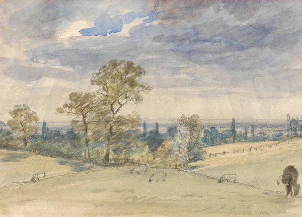 Painting - Suffolk Landscape by John Constable