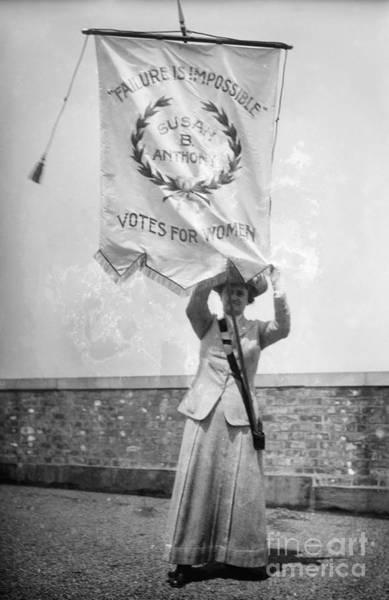 Photograph - Suffragist, C1912 by Granger