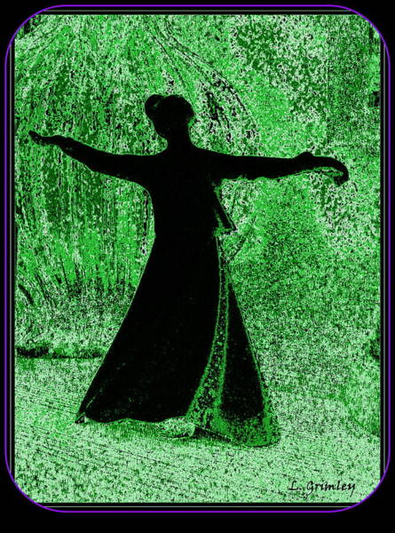 Wall Art - Digital Art - Sufi Dancer by Lessandra Grimley