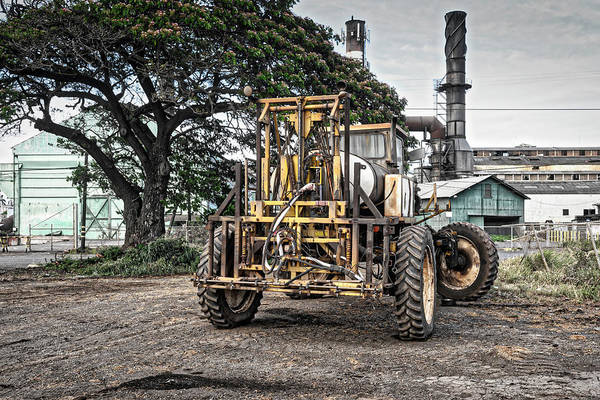 Photograph - Sugar Cane Implement by Jim Thompson