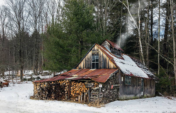 Lean-tos Photograph - Sugar King's Smokehouse by Betty Denise