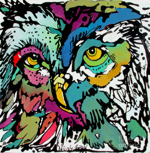 Painting - Sugar by Nicole Gaitan