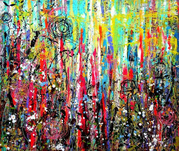 Wall Art - Painting - Sugar Rush by Angie Wright
