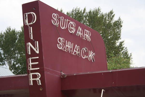 Photograph - Sugar Shack Diner by Dylan Punke