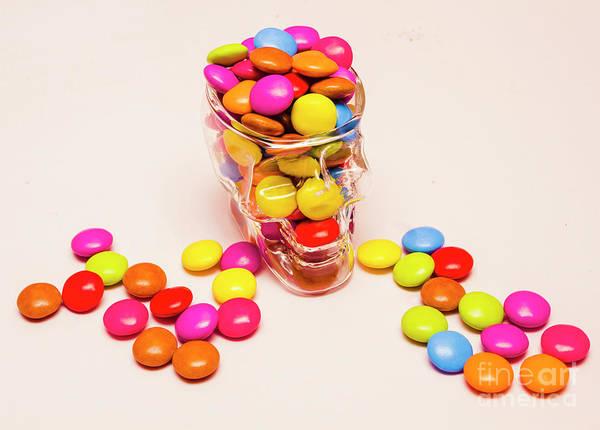 Sweeties Photograph - Sugar Skull Candy Jar by Jorgo Photography - Wall Art Gallery