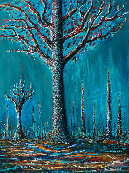 Painting - Sugar Tree by Yom Tov Blumenthal