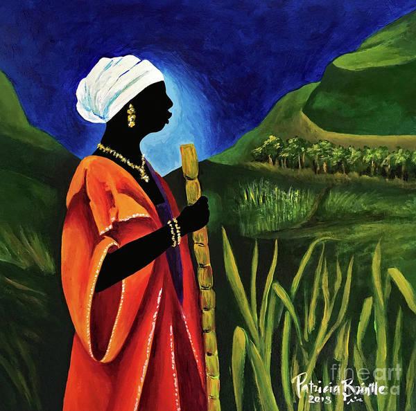 Haiti Painting - Sugarcane Journey by Patricia Brintle