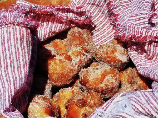 Photograph - Sugared Donut Holes by Susan Savad