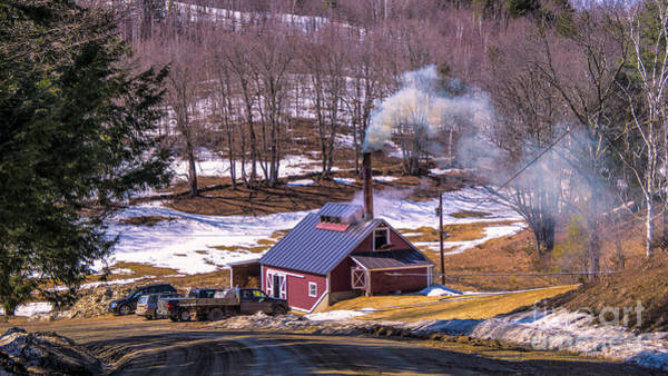 Photograph - Sugaring Season In Vermont by Scenic Vermont Photography