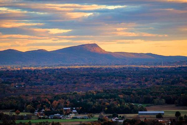 Photograph - Sugarloaf View, South Deerfield, Ma by Sven Kielhorn