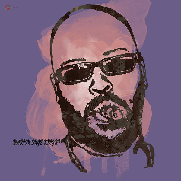 Knights Drawing - Suge Knight Pop Stylised Art Sketch Poster by Kim Wang