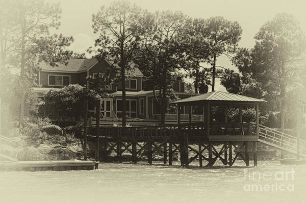 Photograph - Sullivan's Island Coastal Home by Dale Powell