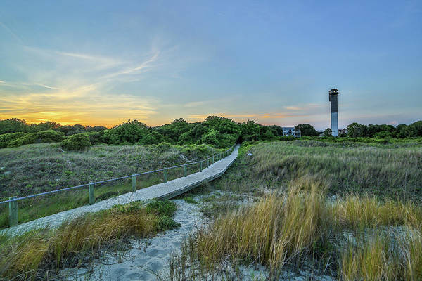 Photograph - Sullivan's Island Evening by Donnie Whitaker