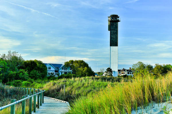 Photograph - Sullivan's Island Lighthouse On A Spring Day - Sullivan's Island Sc by Donnie Whitaker