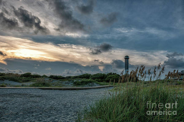Photograph - Sullivan's Island Lighthouse Sandy Toes by Dale Powell
