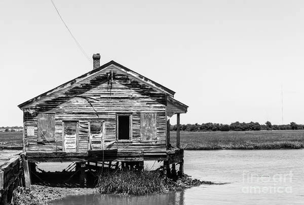 Wall Art - Photograph - Sullivans Island, Sc Coast Guard House by Noel Adams