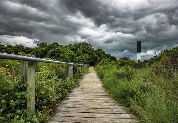 Sullivan's Island Summer Storm Clouds Art Print