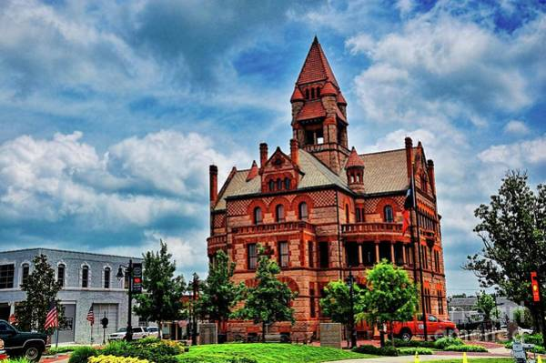 Sulphur Springs Courthouse Art Print