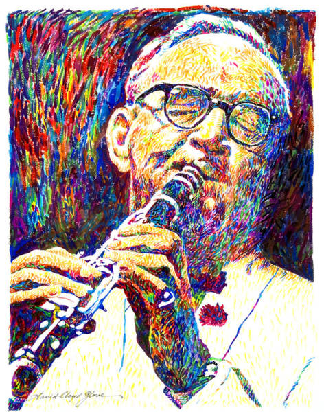 Painting - Sultan Of Swing - Benny Goodman by David Lloyd Glover