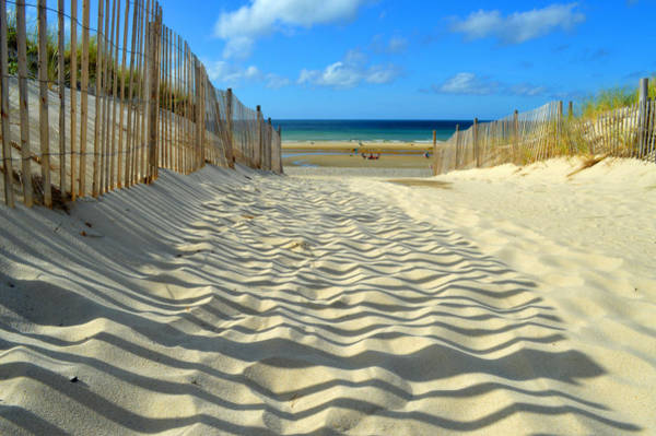 Wall Art - Photograph - Sultry September Beach by Dianne Cowen