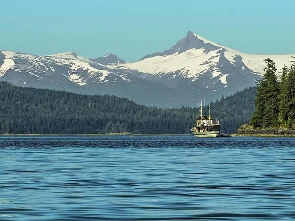 Photograph - Sumdum Glacier Southeast Alaska by NaturesPix