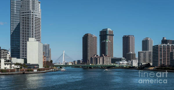 Photograph - Sumida River High Rise, Tokyo Japan 2 by Perry Rodriguez