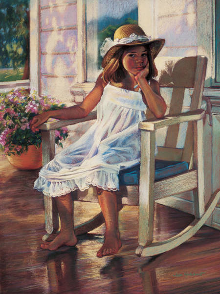 Painting - Summer Afternoon by Jean Hildebrant