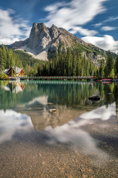 Photograph - Summer At Emerald Lake by Pierre Leclerc Photography