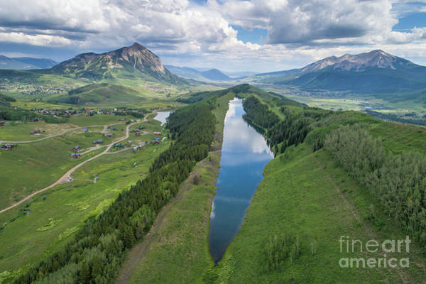 Uas Wall Art - Photograph - Summer At Long Lake  by Dusty Demerson