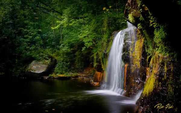 Photograph - Summer At Wolf Creek Falls by Rikk Flohr