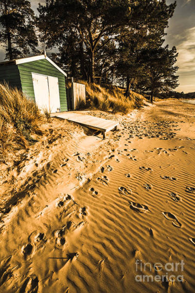 Photograph - Summer Beach Shacks by Jorgo Photography - Wall Art Gallery