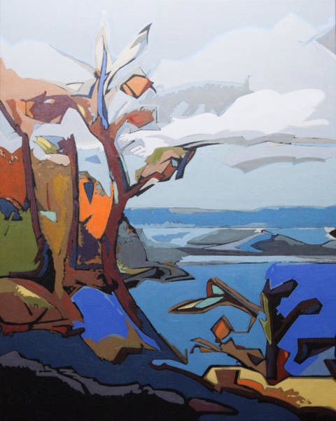 Painting - Summer Becher Bay by Rob Owen