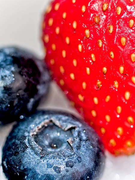 Photograph - Summer Berries by Jim DeLillo