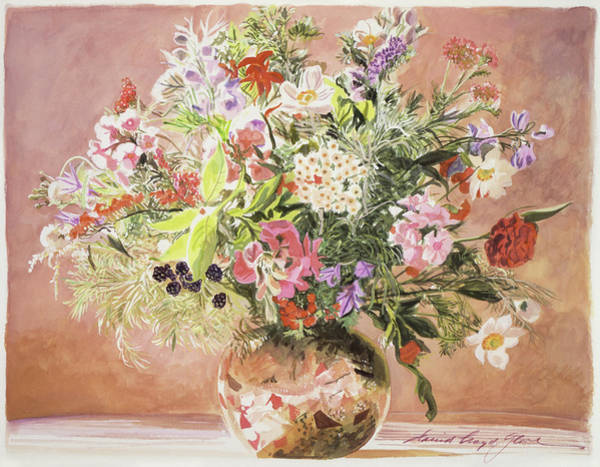 Painting - Summer Bouquet by David Lloyd Glover