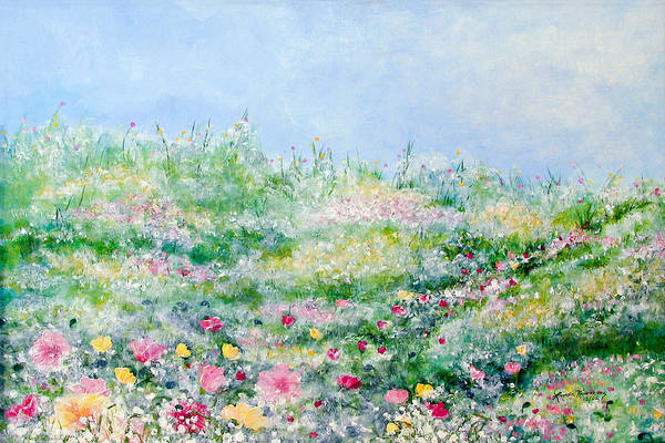 Painting - Summer Breeze by Linda Rauch