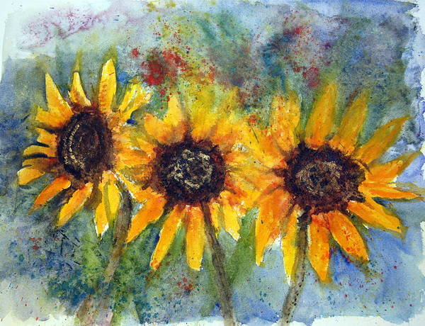 Painting - Summer Brilliance by Anna Jacke