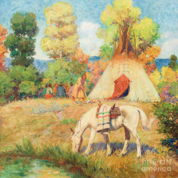 Painting - Summer Camp by Celestial Images