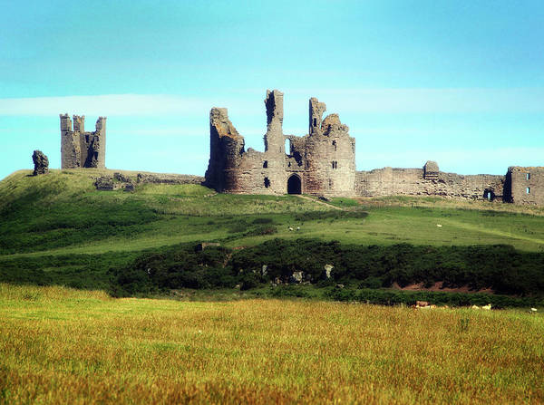 Northumbria Photograph - Summer Castle by Philip Openshaw