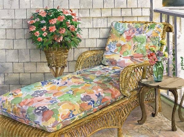 Painting - Summer Chaise by Tyler Ryder