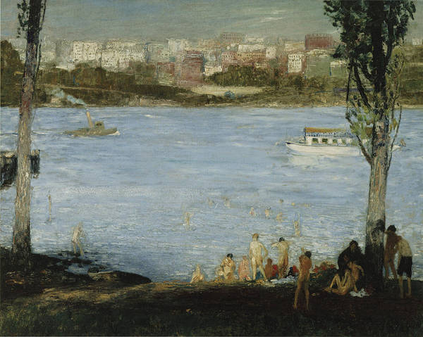 Photograph - Summer City by George Bellows