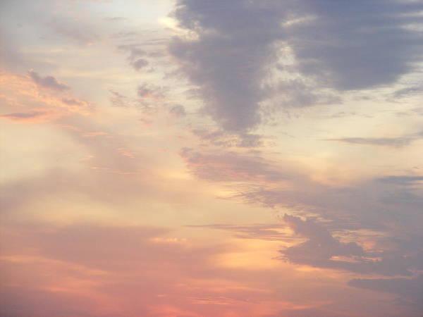 Summer Clouds Art Print