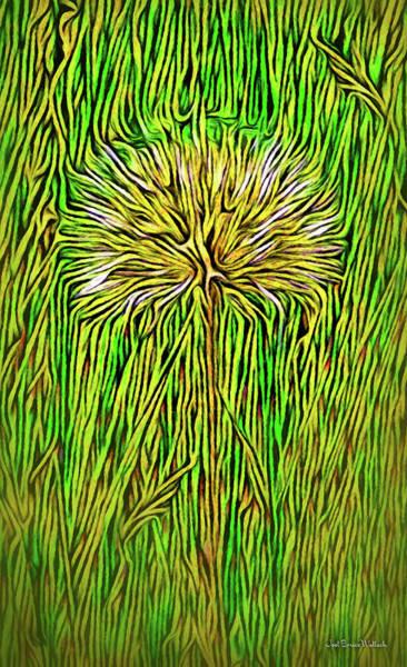 Digital Art - Summer Dandelion Morning by Joel Bruce Wallach