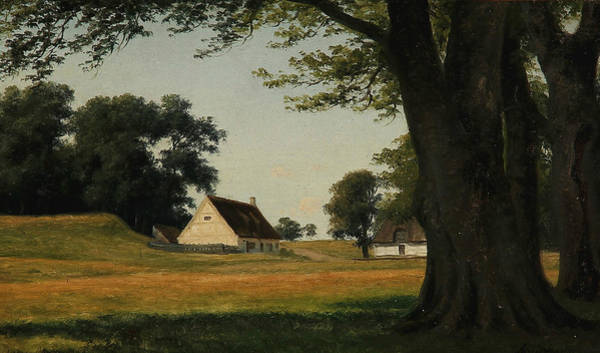 Painting - Summer Day At Ermitagesletten by Axel Schovelin
