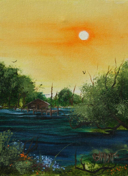 Painting - Summer Day At The Lake by Jhiatt