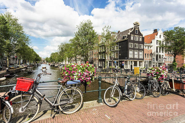 Photograph - Summer Day In Amsterdam by Didier Marti