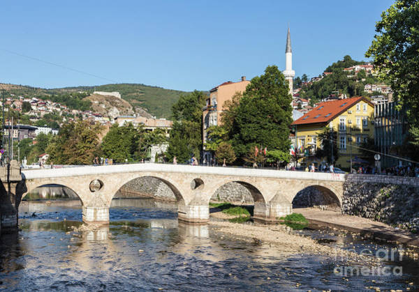 Photograph - Summer Day In Sarajevo by Didier Marti