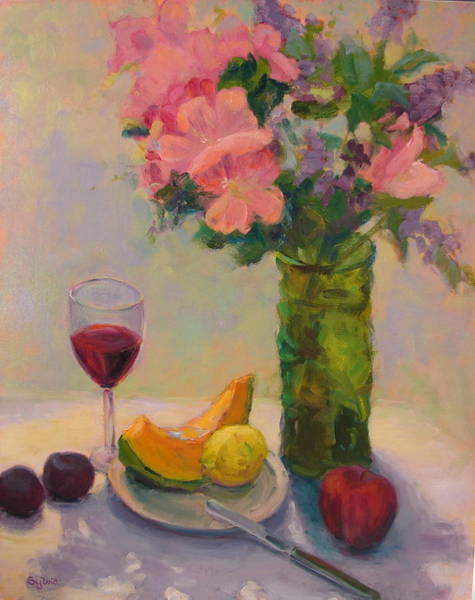Wall Art - Painting - Summer Delights by Sylvia Carlton
