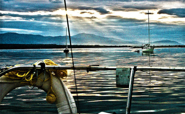 Photograph - Summer Eve At Sea by Alicia Kent