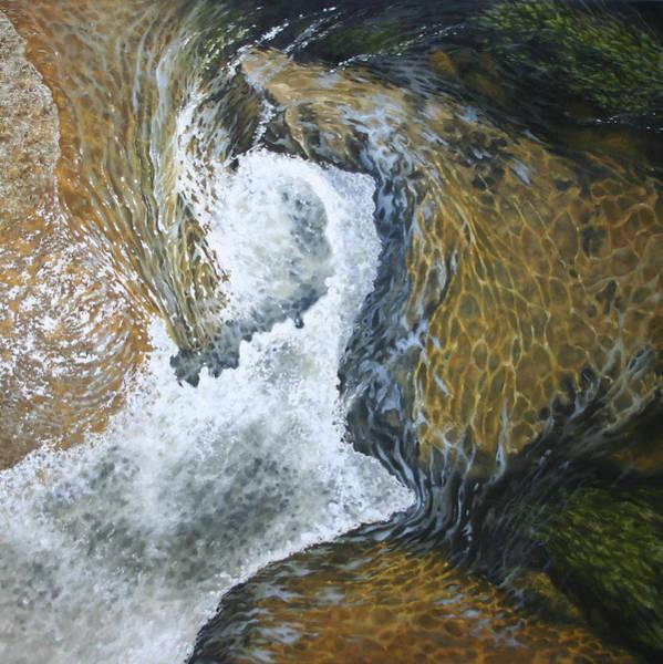 Upstate New York Painting - Summer Falling by Jason Sawtelle